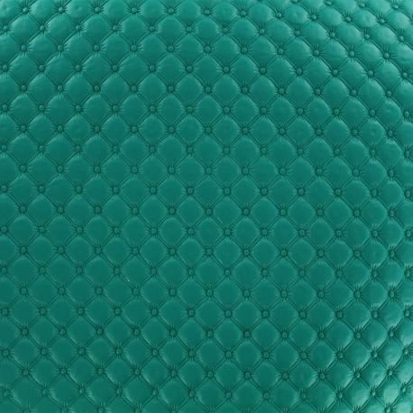 Imitation leather Jada - green blue x 10cm