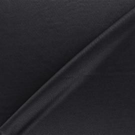Lining jersey fabric - black x 10cm