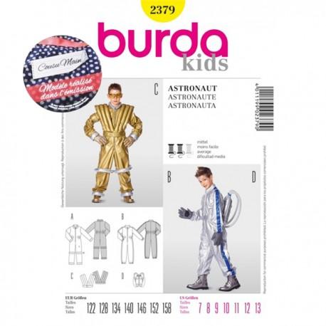 Sewing Pattern Astronaut Costume Cousu Main Burda n°2379