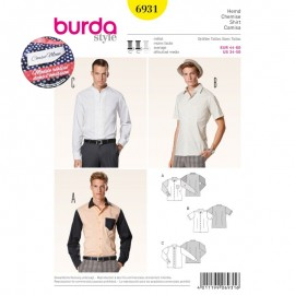 Patron Robe & T-shirt Burda n°6930