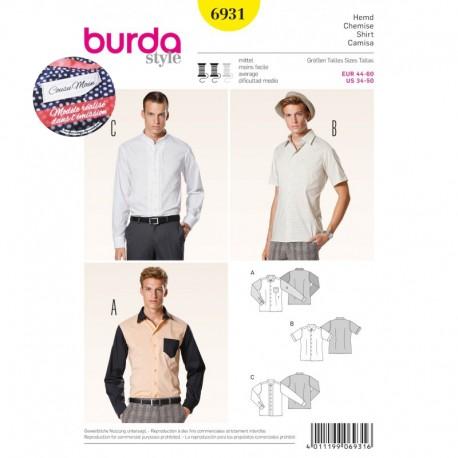 Patron Robe & T-shirt Burda n°6930