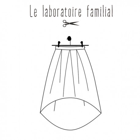 Sewing pattern Le laboratoire familial Skirt - Olympe