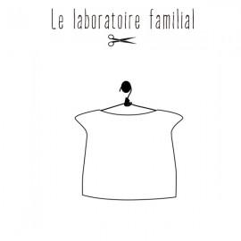 Patron Femme Le laboratoire familial top doublé - Armance