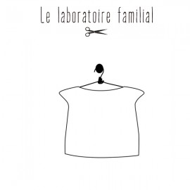 Sewing pattern Le laboratoire familial Top - Armance