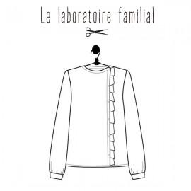 Patron Femme Le laboratoire familial blouse - Scarlett