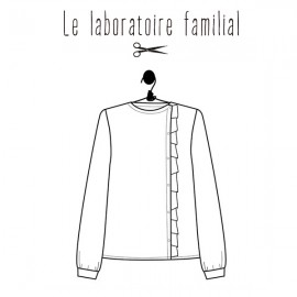 Sewing pattern Le laboratoire familial Shirt - Scarlett