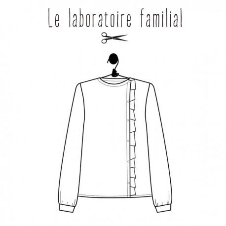 Sewing pattern Le laboratoire familial Shirt - Scarlett