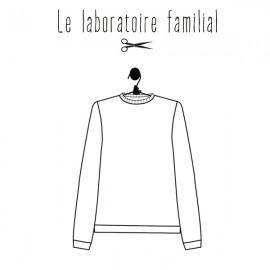 Patron Femme Le laboratoire familial pull - Louison