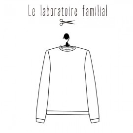 Sewing pattern Le laboratoire familial Sweater - Louison