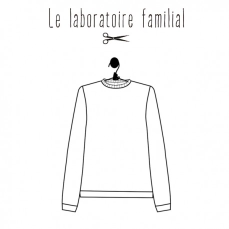Sewing pattern Le laboratoire familial Sweater - Louison