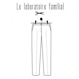 Patron Femme Le laboratoire familial pantalon - Albertine