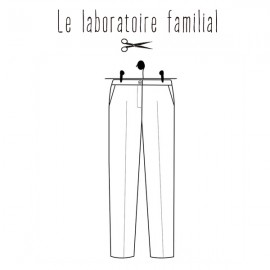 Sewing pattern Le laboratoire familial Trousers - Albertine