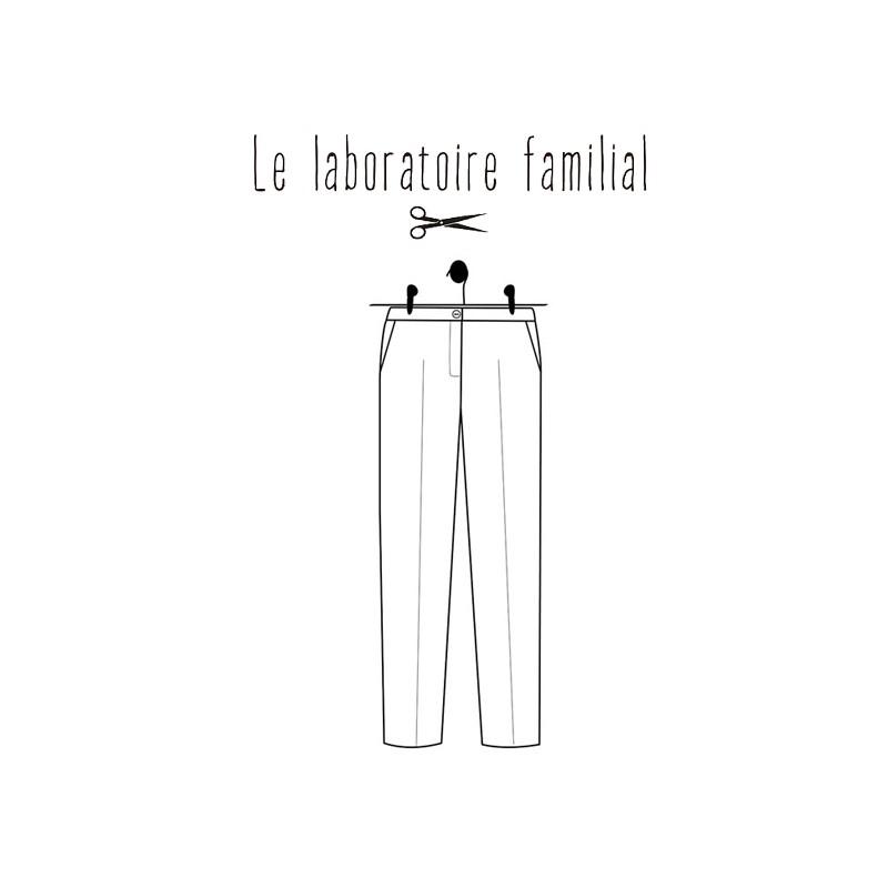 Le Familial Laboratoire Albertine Patron Femme Pantalon qMzSVUp