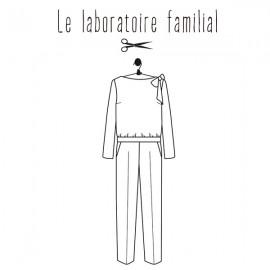 Sewing pattern Le laboratoire familial Overalls - Honorine