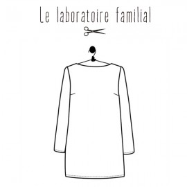 Sewing pattern Le laboratoire familial dress - Eleonore