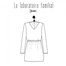 Sewing pattern Le laboratoire familial dress - Bertille