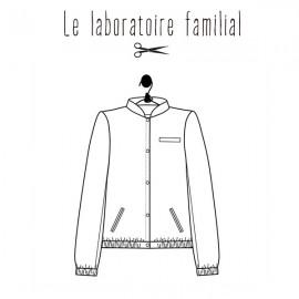 Sewing pattern Le laboratoire familial teddy - Celestine