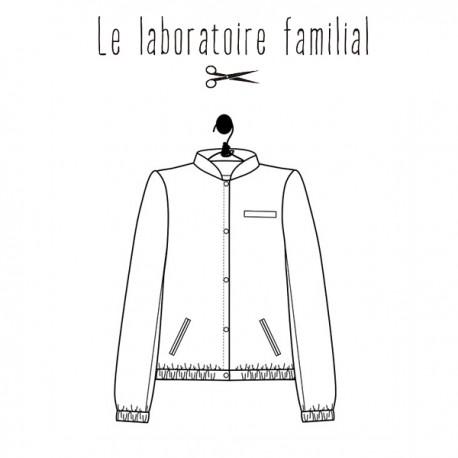 Patron Le laboratoire familial teddy - Célestine