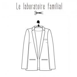 Patron Femme Le laboratoire familial veste - Léontine