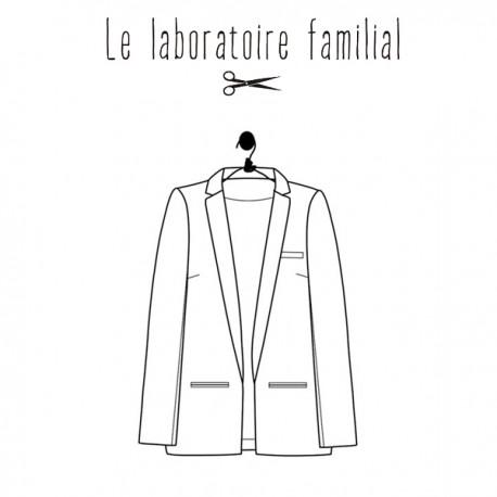 Patron Le laboratoire familial veste - Léontine