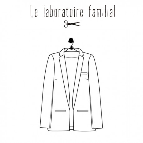 Sewing pattern Le laboratoire familial jacket - Léontine