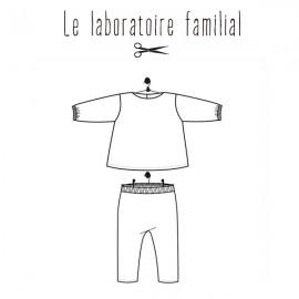 Patron Le laboratoire familial ensemble - Joséphine & Marius