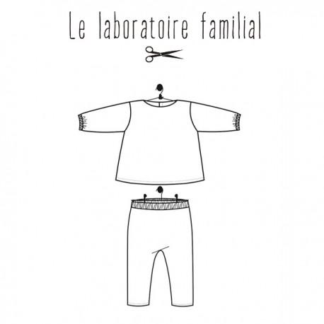 Sewing pattern Le laboratoire familial ensemble - Joséphine & Marius