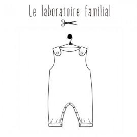 Sewing pattern Le laboratoire familial overalls - Séraphine & Gabin