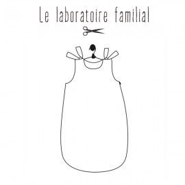 Sewing pattern Le laboratoire familial gig - Inès & Léon