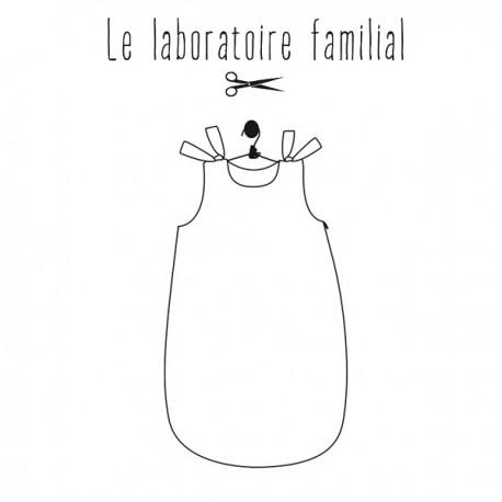 Patron Le laboratoire familial turbulette - Inès & Léon