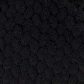 Fourrure Vogue - noir x 10cm