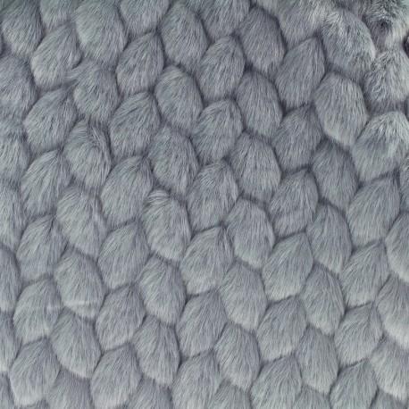 Vogue fur - grey x 10cm
