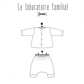 Patron Le laboratoire familial ensemble - Madeleine & Hypolite