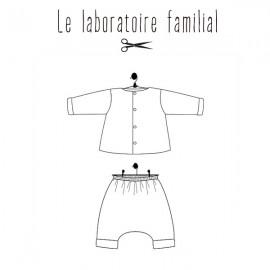 Sewing pattern Le laboratoire familial ensemble -Madeleine & Hypolite