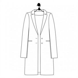 Sewing pattern Le laboratoire familial coat - Garance