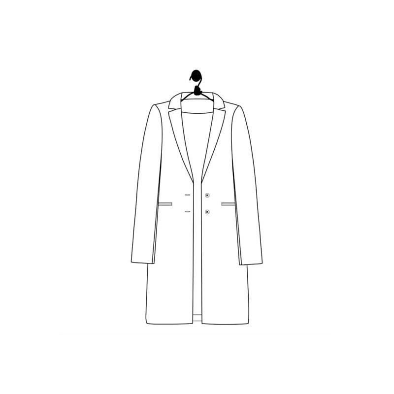 Sewing pattern Le laboratoire familial coat - Garance