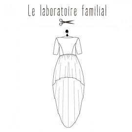 Patron Le laboratoire familial robe - Elisabeth