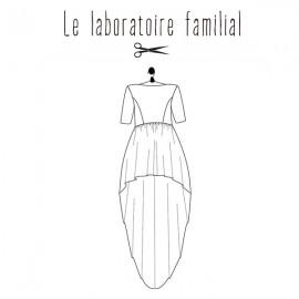 Sewing pattern Le laboratoire familial dress - Elisabeth