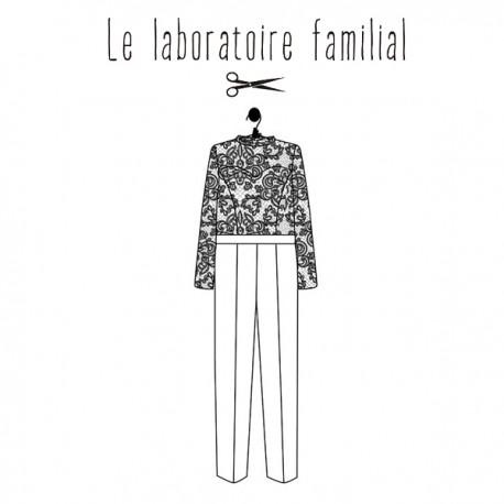 Patron Le laboratoire familial combinaison - Victoire