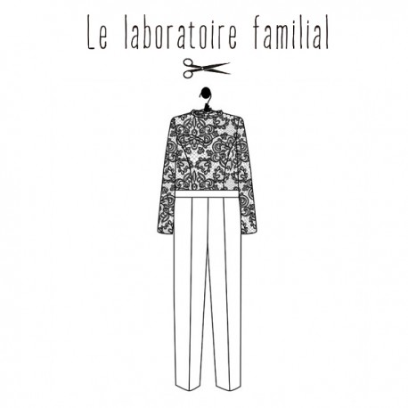 Sewing pattern Le laboratoire familial overalls - Victoire