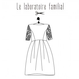 Sewing pattern Le laboratoire familial dress - Edith