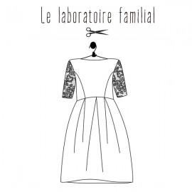 Sewing pattern Le laboratoire familial dress - Edith