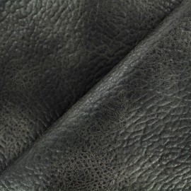 Imitation leather Cherokee - anthracite x 10cm