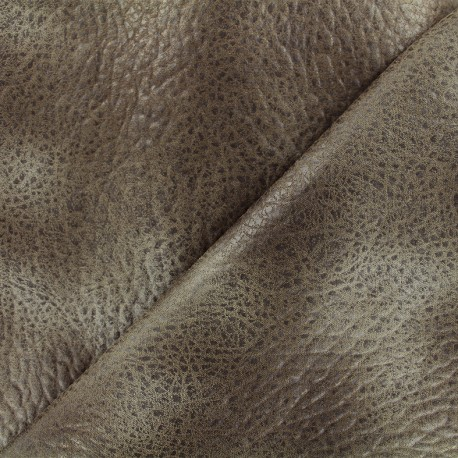 Imitation leather Cherokee - taupe x 10cm