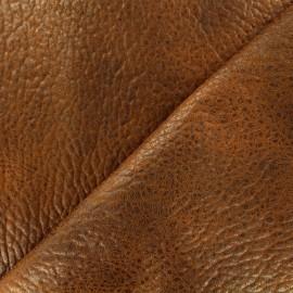 Simili cuir Cherokee - tabac x 10cm
