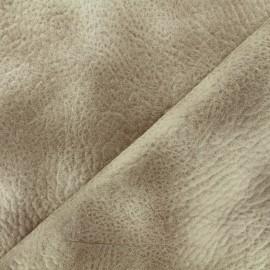Simili cuir Cherokee - gris clair x 10cm