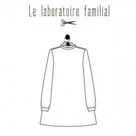Sewing pattern Le laboratoire familial dress - Sixtine