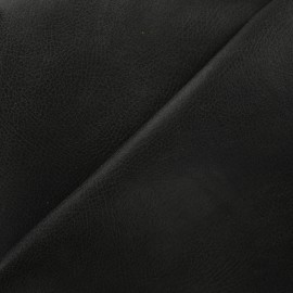 Leather upholstery fabric Tennessee - anthracite x 10cm