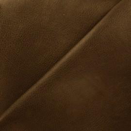 Cuir Tennessee - marron foncé x 10cm