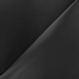 Simili cuir Karia sur mousse - noir x 10cm